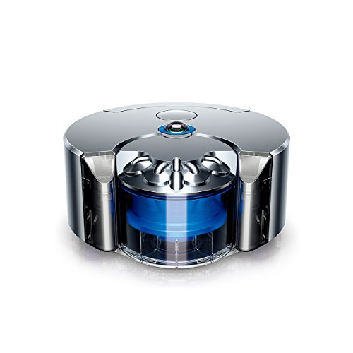 Dyson 360 Eye (Nickel/Blue) - Twice the suction of...